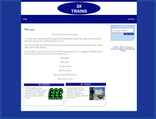 Tablet Preview of 3xtrains.co.uk